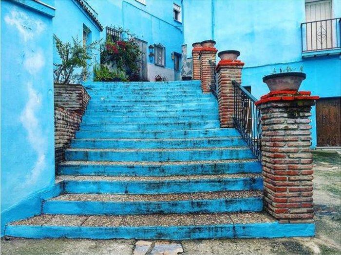 Juzcar, το πανέμορφο μπλε ανδαλουσιανό χωριό της Ισπανίας - εικόνα 17