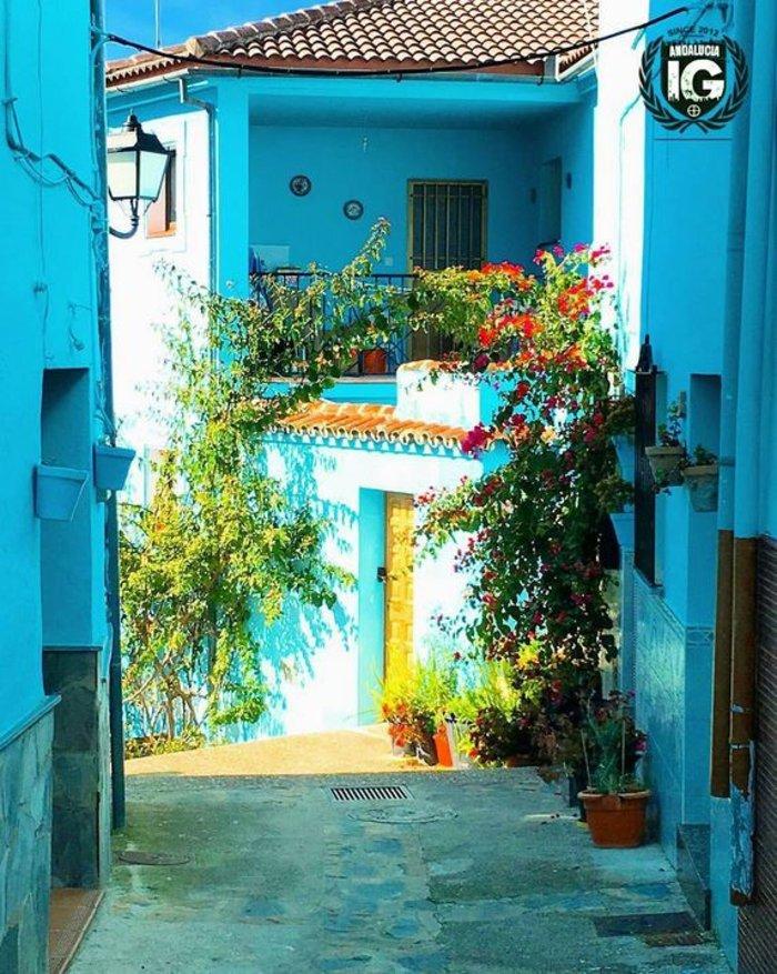 Juzcar, το πανέμορφο μπλε ανδαλουσιανό χωριό της Ισπανίας - εικόνα 18