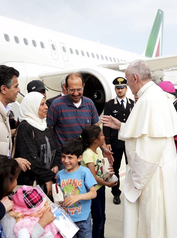 Μαθήματα Ιταλικών για τους 12 πρόσφυγες φιλοξενούμενους του Πάπα