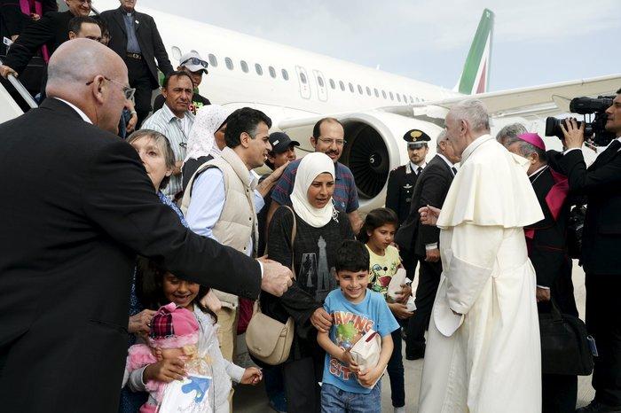 Μαθήματα Ιταλικών για τους 12 πρόσφυγες φιλοξενούμενους του Πάπα - εικόνα 2