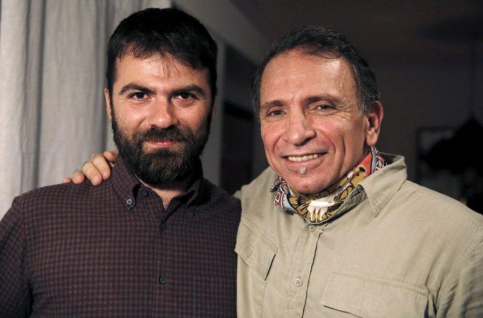 Αλκης Κωνσταντινίδης (Α) και Γιάννης Μπεχράκης (Δ)