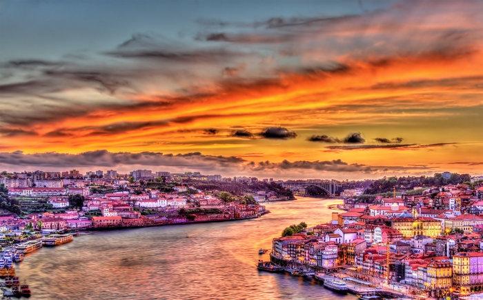 Ηλιοβασίλεμα στο Πόρτο