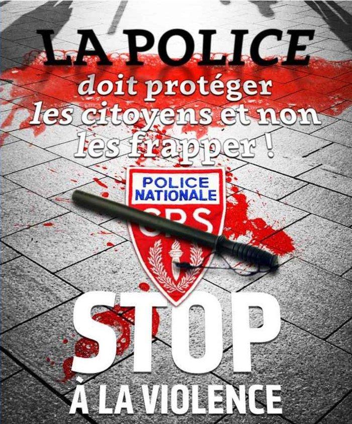 Σάλος στη Γαλλία για την αιματοβαμμένη αφίσα του συνδικάτου CGT