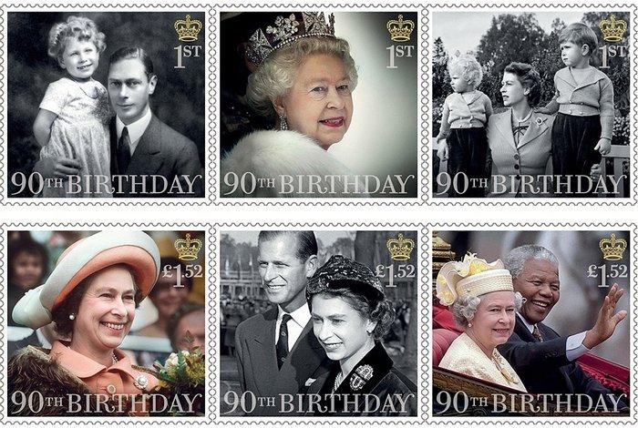 Ο πρίγκιπας Τζορτζ ποζάρει για το πρώτο του γραμματόσημο και γράφει ιστορία