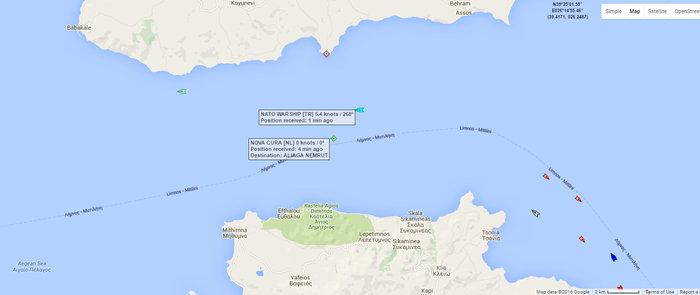 Βυθίζεται φορτηγό πλοίο που προσάραξε βόρεια της Λέσβου
