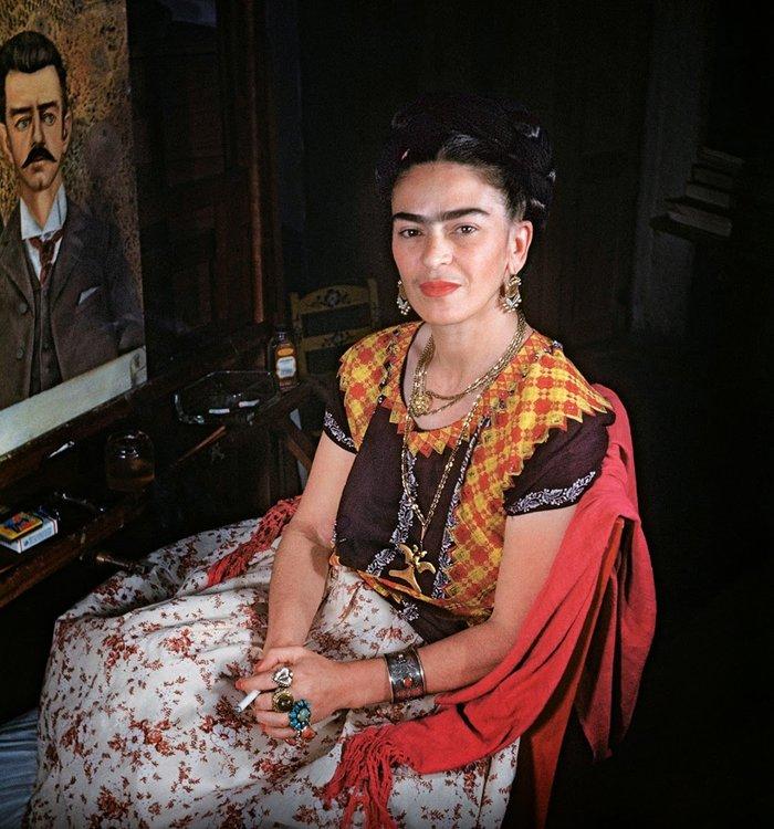 Οι μοναδικές  φωτογραφίες της Φρίντα Κάλο πριν το τέλος