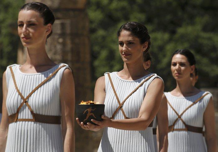 Καρέ καρέ η Τελετή Αφής της Ολυμπιακής Φλόγας - εικόνα 7