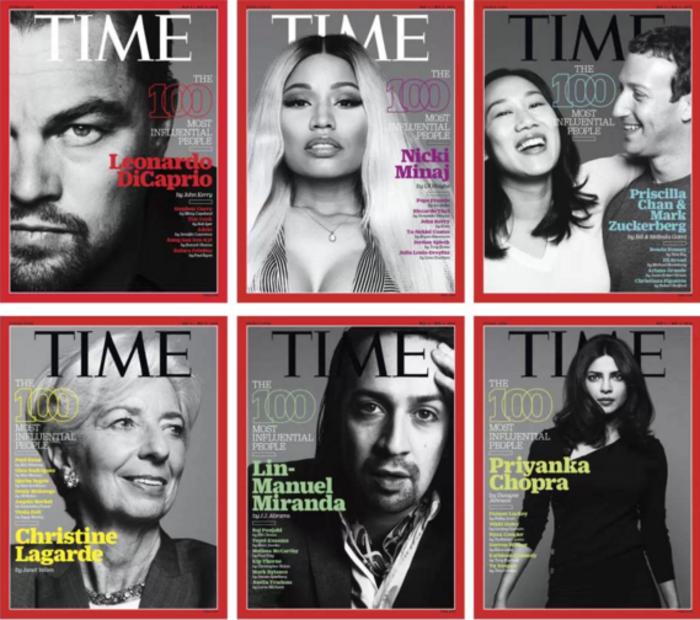 Time: Αυτοί είναι οι 100 άνθρωποι με την μεγαλύτερη επιρροή στον κόσμο