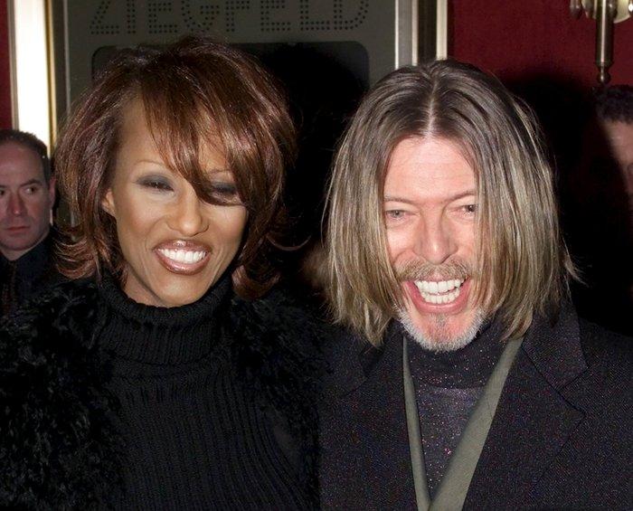 Η Ιμάν έλυσε τη σιωπή της: Λοιπόν, αυτός ήταν ο άντρας μου, D. Bowie