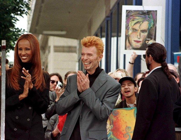 Η Ιμάν έλυσε τη σιωπή της: Λοιπόν, αυτός ήταν ο άντρας μου, D. Bowie - εικόνα 3