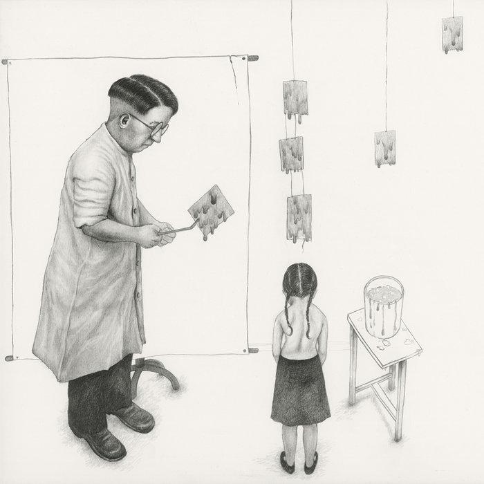Ο εικαστικός Β. Σελιμάς και ένα τρυφερό βιβλίο για τη μοναχική γιαγιά του - εικόνα 4