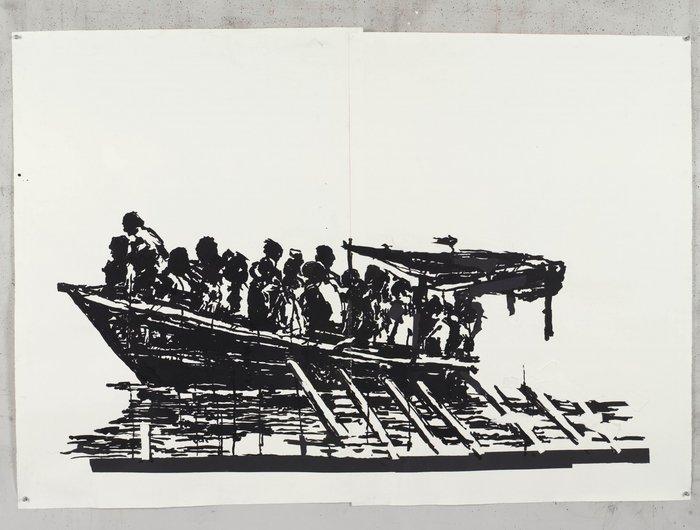 Οι όχθες του Τίβερη μεταμορφώνονται από μια μεγάλη οικολογική τοιχογραφία - εικόνα 15