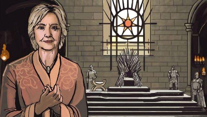 Σύμφωνα με το Vox, η Χίλαρι Κλίντον θα μπορούσε να είναι η Σέρσεϊ Λάνιστερ. Έχουμε να κάνουμε με γυναίκες στην εξουσία σε έναν κόσμο που κυριαρχείται από άνδρες.