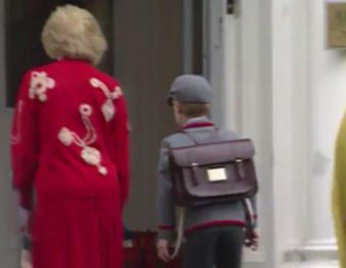 Σπάνιο βίντεο: Η Νταϊάνα πάει σχολείο τους μικρούς Ουίλιαμ και Χάρι - εικόνα 4