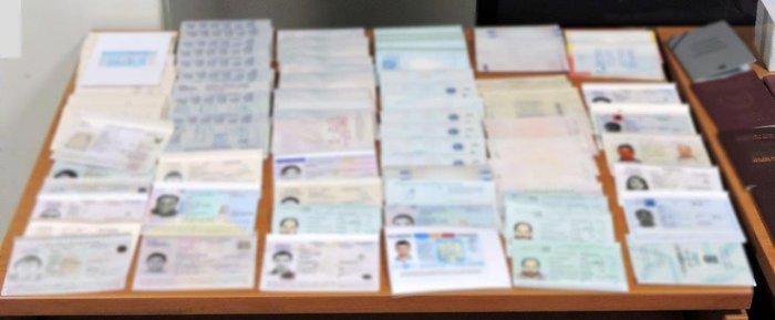 Εντόπισαν εργαστήριο πλαστών διαβατηρίων στην Κυψέλη - εικόνα 2