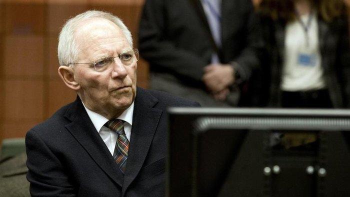 O γερμανός υπουργός Οικονομικών Βόλφγκανγκ Σόιμπλε