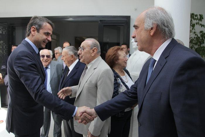 Ολη η ΝΔ στο μνημόσυνο του Κωνσταντίνου Καραμανλή
