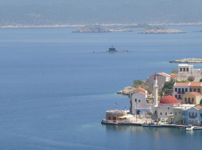 Στο Καστελόριζο τα υποβρύχια «Αμφιτρίτη» & «Τρίτων»
