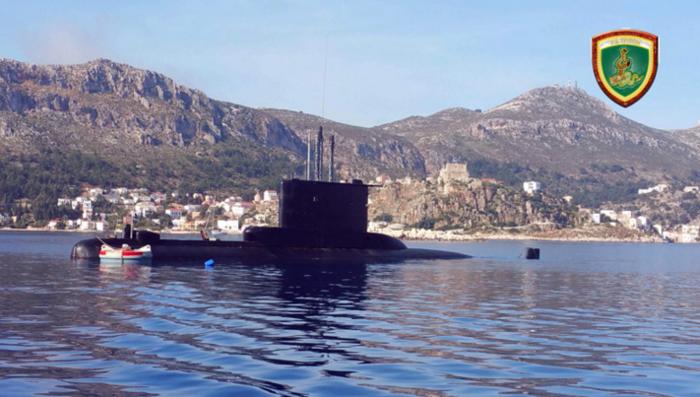 Φωτογραφία από το Γενικό Επιτελείο Ναυτικού
