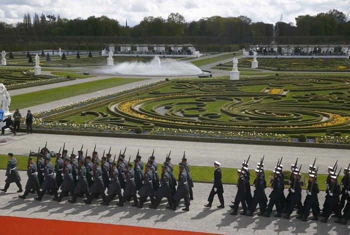 Oι θαυμαστοί Κήποι Χερενχόιζερ, όπου η Μέρκελ υποδέχθηκε τον Ομπάμα - εικόνα 2