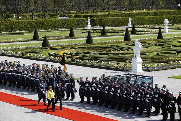 Oι θαυμαστοί Κήποι Χερενχόιζερ, όπου η Μέρκελ υποδέχθηκε τον Ομπάμα - εικόνα 3