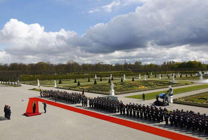 Oι θαυμαστοί Κήποι Χερενχόιζερ, όπου η Μέρκελ υποδέχθηκε τον Ομπάμα - εικόνα 4