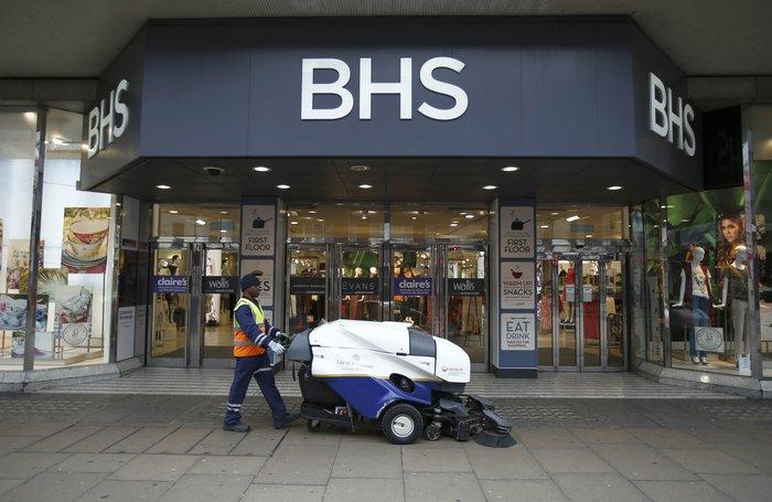 Λίγο πριν την κατάρρευση τα πολυκαταστήματα BHS στη Βρετανία