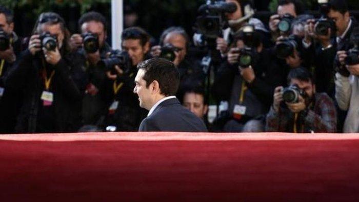 O έλληνας πρωθυπουργός Αλέξης Τσίπρας