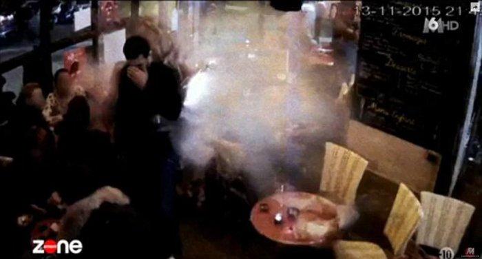 Βίντεο-σοκ με την επίθεση αυτοκτονίας του Αμπντεσλάμ