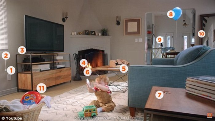 Μπορείτε να βρείτε τους 11 κινδύνους για το μικρό αγόρι σε αυτό το δωμάτιο; - εικόνα 2