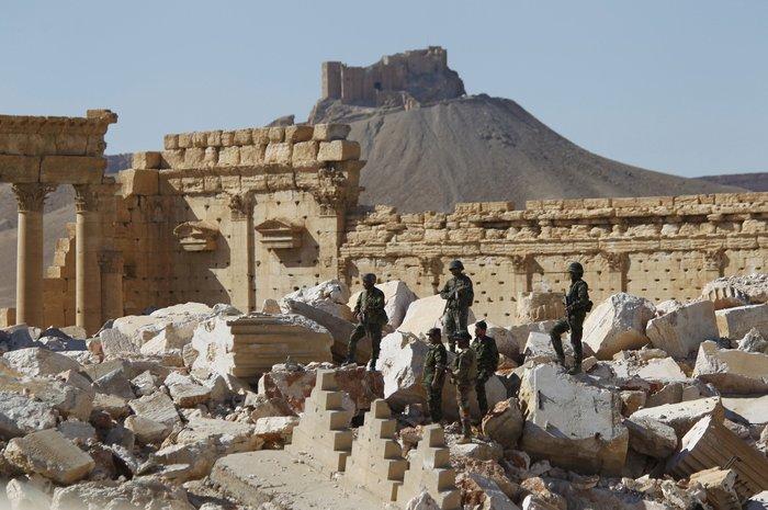 Ακέραιη σε μεγάλο βαθμό η Παλμύρα παρά τις ζημιές λένε ειδικοί της Unesco - εικόνα 2