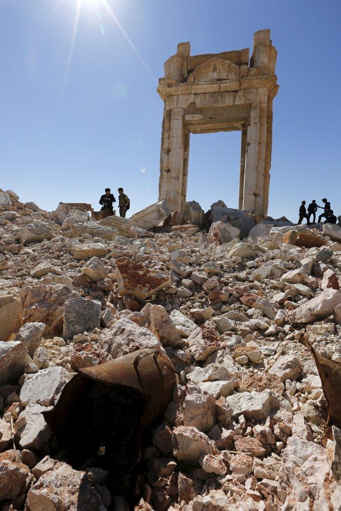Ακέραιη σε μεγάλο βαθμό η Παλμύρα παρά τις ζημιές λένε ειδικοί της Unesco - εικόνα 3