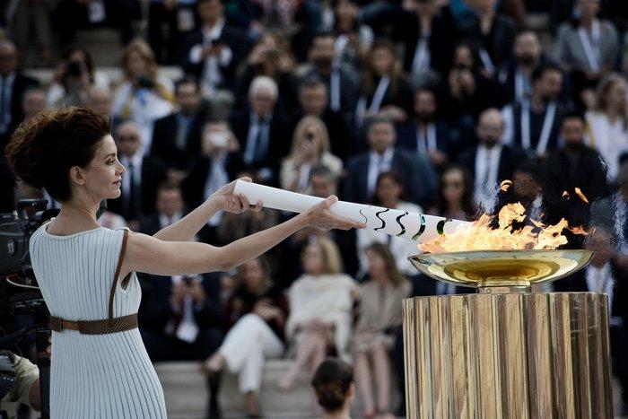 Η Ολυμπιακή Φλόγα ξεκίνησε το ταξίδι της για Ρίο [εικόνες] - εικόνα 6