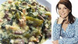 Η παριανή μαγειρίτσα της Αργυρώς Μπαρμπαρίγου - αναλυτικά η συνταγή