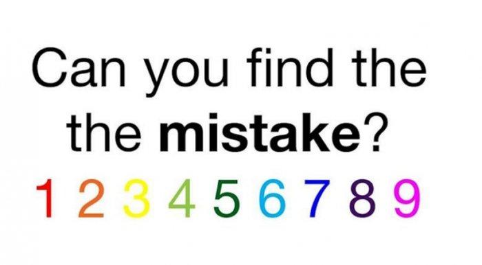 Μπορείτε να βρείτε το λάθος σε αυτή τη φωτογραφία; Το κουίζ που σαρώνει