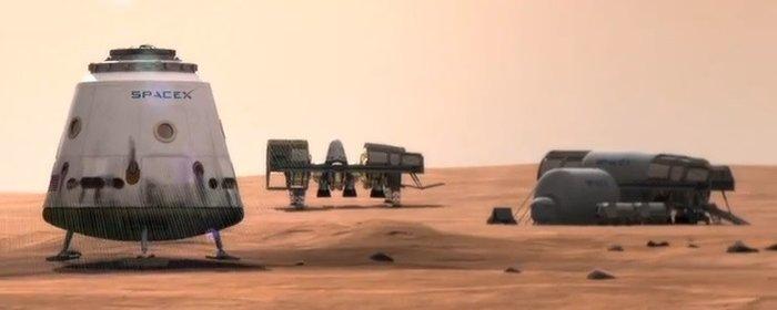 Σε δύο χρόνια η πρώτη ιδιωτική αποστολή στον Αρη από την SpaceX