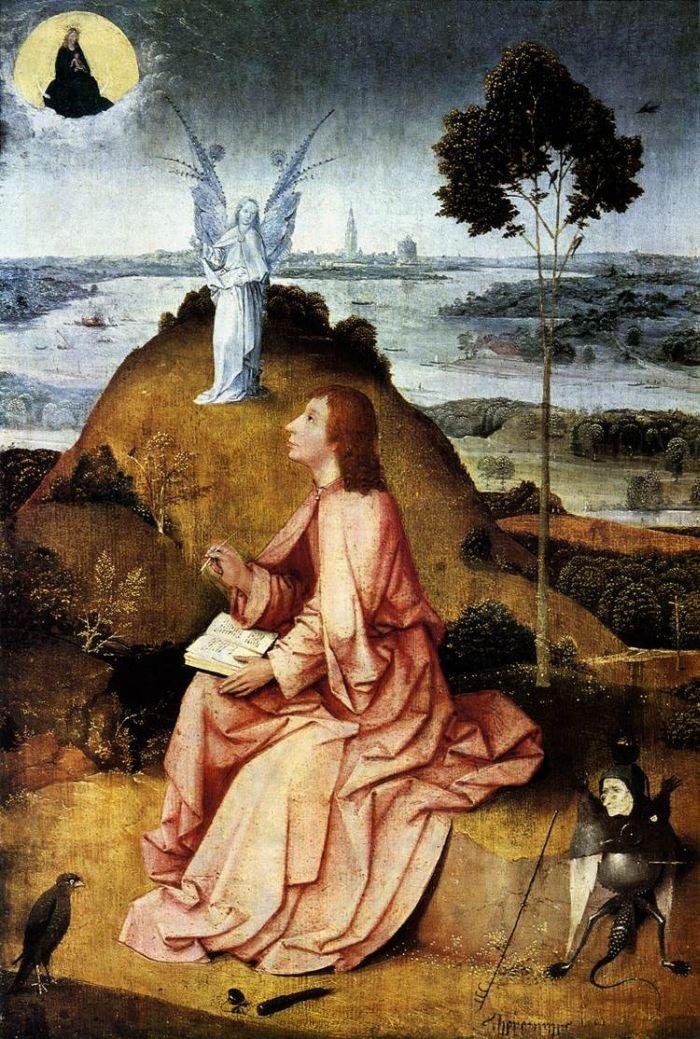 Saint John on Patmos, Berlin, Staatlichen Museen zu Berlin