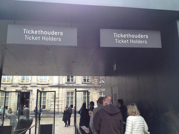 Είσοδος στο μουσείο