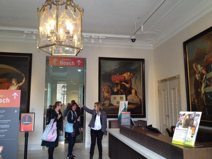 Η υποδοχή του μουσείου