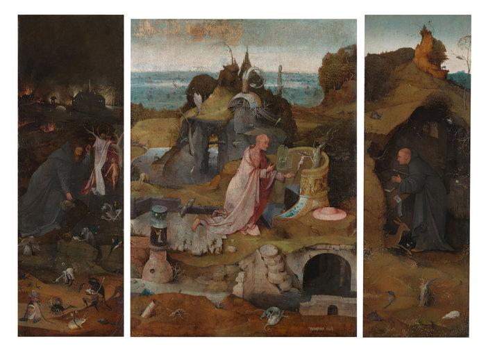 Triptych of the Hermit Saints, Venezia, Gallerie dell'Accademia