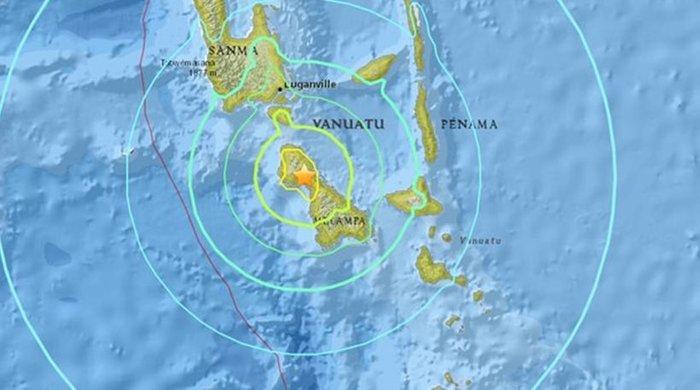 Προειδοποίηση για τσουνάμι στον Ειρηνικό μετά από σεισμό 7 Ρίχτερ