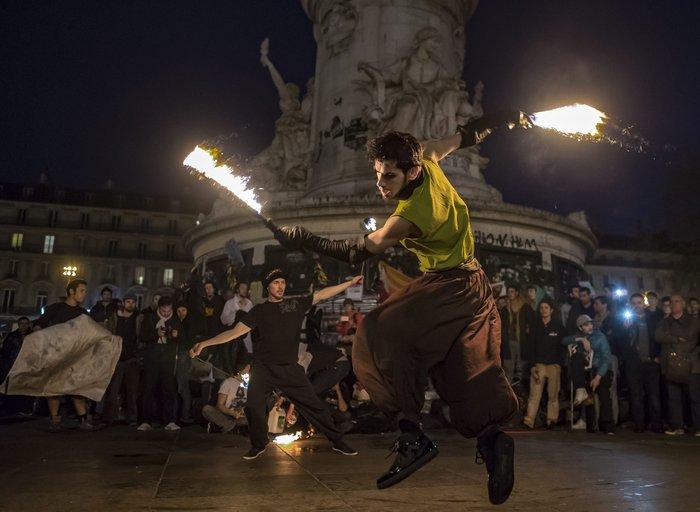 Παρίσι: Νέα επεισόδια & συλλήψεις στις Νύχτες Αγρύπνιας