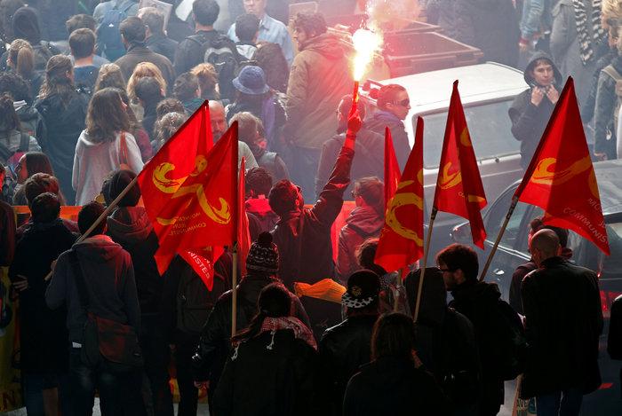 Παρίσι: Νέα επεισόδια & συλλήψεις στις Νύχτες Αγρύπνιας - εικόνα 6
