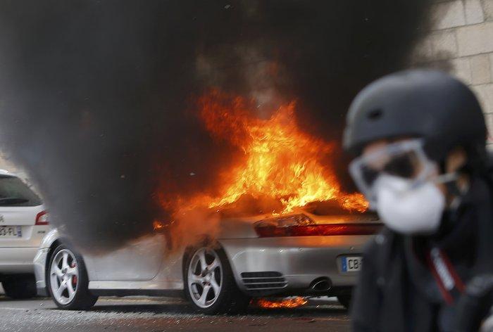 Παρίσι: Νέα επεισόδια & συλλήψεις στις Νύχτες Αγρύπνιας - εικόνα 7