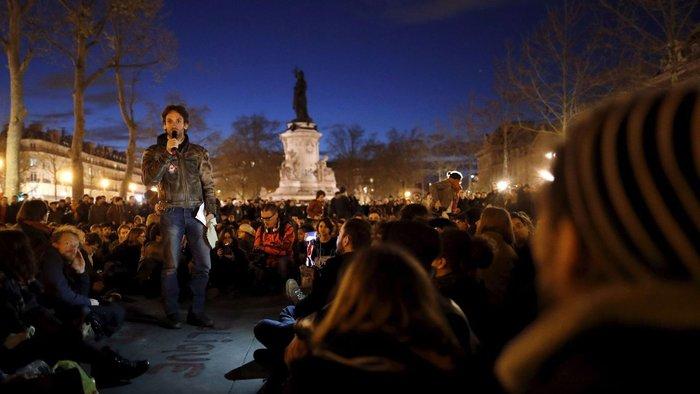 Παρίσι: Νέα επεισόδια & συλλήψεις στις Νύχτες Αγρύπνιας - εικόνα 8