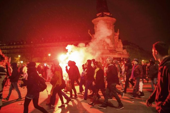 Παρίσι: Νέα επεισόδια & συλλήψεις στις Νύχτες Αγρύπνιας - εικόνα 10
