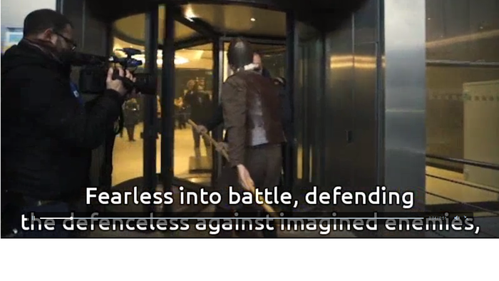 Ο Δον Κιχώτης & ο Σάντσο πήγαν στο Ευρωπαϊκό Κοινοβούλιο - εικόνα 2