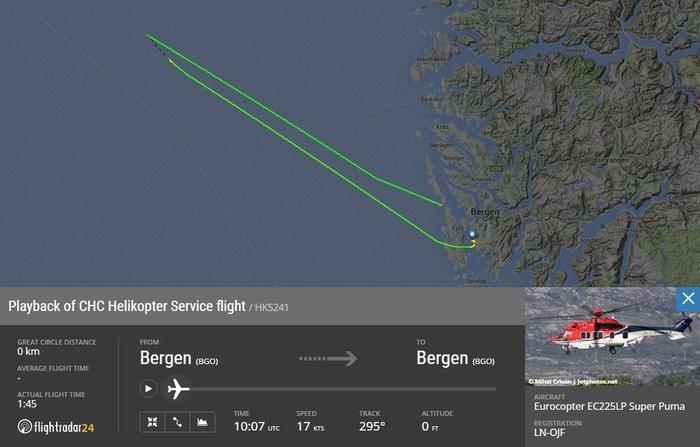 Συντριβή ελικοπτέρου στις ακτές της Νορβηγίας