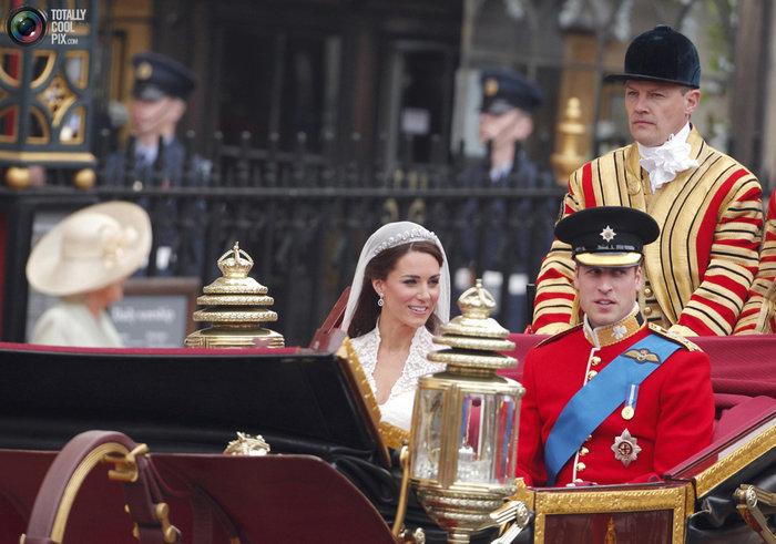 Σαν σήμερα 5 χρόνια πριν: Ο παραμυθένιος βασιλικός γάμος Γουίλιαμ - Κέιτ
