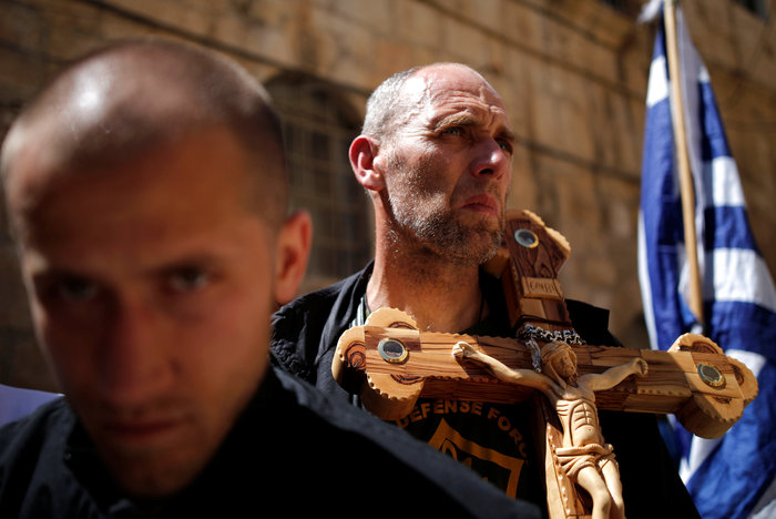 Ιερουσαλήμ: Η πομπή στην Οδό του Μαρτυρίου έως τον Γολγοθά - φωτο - εικόνα 2